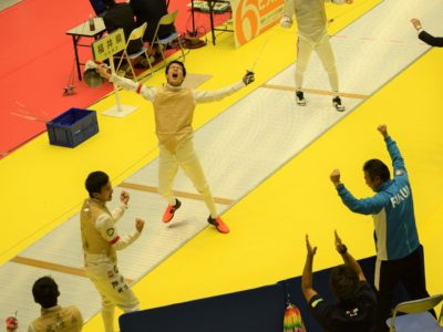 大健闘!国体フェンシング少年男子