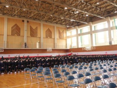 平成30年度卒業式 平成31年3月1日(金)